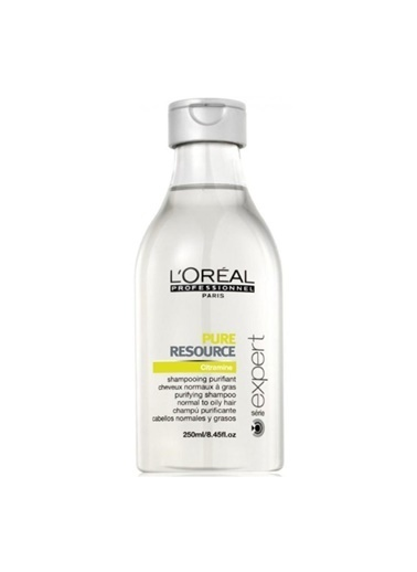 Loreal Serie Expert Pure Resource Yağ Dengeleyici Şampuan 250Ml Renksiz